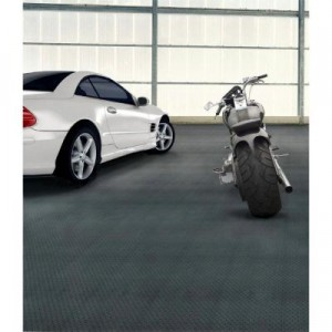 Trafficmaster Allure Commercial Diamond Plate Graphite Vinyl Flooring ...